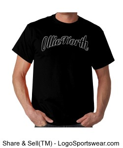 Ollie North David tee BLK/BLK Design Zoom